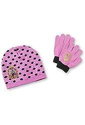 Mattel Ever After High Polka Dot Knit Cap and Glove Set
