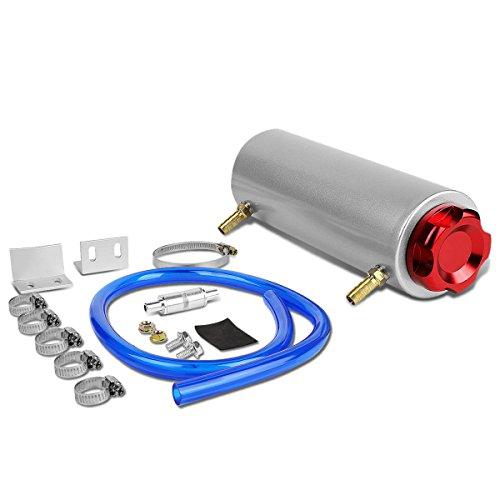 DNA Motoring OCT-T99-RD Billet Aluminum Oil Catch Tank