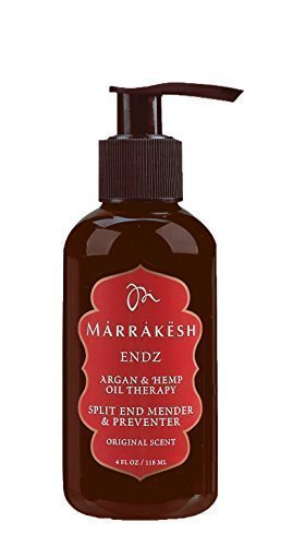 Marrakesh Endz Argan and Hemp Oil Therapy 4 Ounces, Original Scent by Earthly Body by MARRAKESH