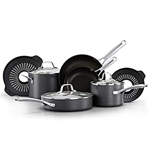 Calphalon Classic Pots and Pans Boil-Over Inserts, Nonstick Cooking Set 13