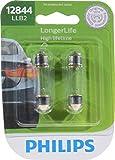 Philips 12844LLB2 LongerLife Miniature Bulb, 2 Pack