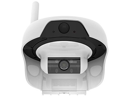 Solar Powered Outdoor, Water Resistant Wireless Smart P2P WIFI IP High Definition Video Surveillance Camera with Motion Detection PIR