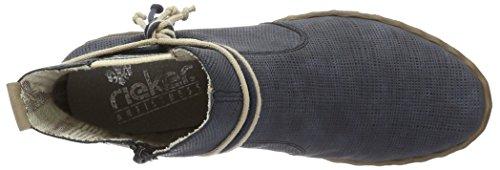 Rieker Dameslaarzen Y1893 Chelsea Blauw (atlantis / Beige / 15)