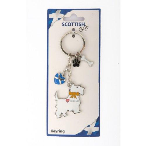 特別価格 Scottie Dog Bone With Keyring Heart Dog Paw and Bone Keyring B007OA8Y2U, Anniversary Style:f3ee7d3e --- yelica.com