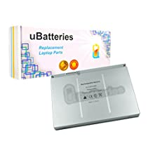 "UBatteries Laptop Battery Apple MacBook Pro 17"" A1189 A1212 A1261 A1212/A A1151 MB166X/A - 3 Cell, 68Whr"