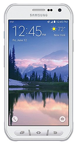 Samsung Galaxy S6 Active G890A 32GB AT&T (Renewed) (White) (Cell Phone Galaxy 4s For At&t)