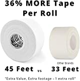 (3 Pack) White Athletic Sports Tape VERY Strong