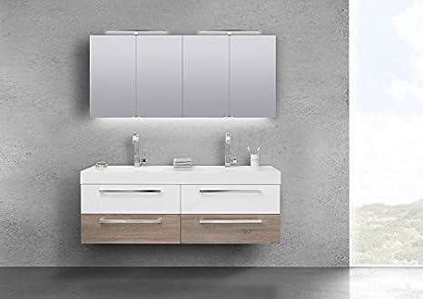Amazon.de: Intarbad Badmöbel Set Doppelwaschbecken 160 cm ...