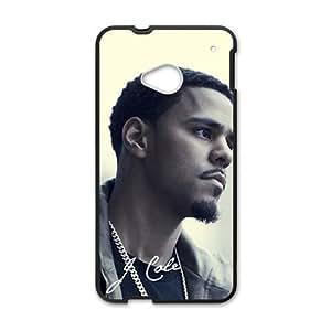 J.Cole Black Phone Case for HTC M7