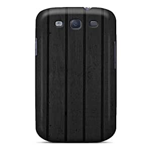 New Arrival Black Wood Textures GhAzhwf2461sJBVl Case Cover/ S3 Galaxy Case