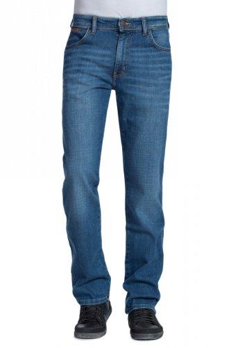 Wrangler Broke Uomo Jeans 37x Texas Stretch Desgastado ra8qrp7