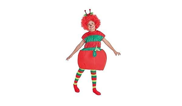LLOPIS - Disfraz Infantil Gusano y Manzana t-2: Amazon.es ...