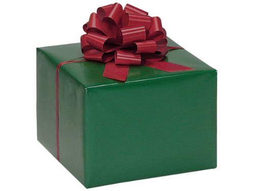 - HUNTER GREEN Gift Wrap Wrapping Paper 16 Foot Roll