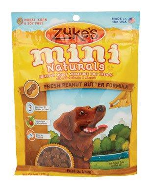 Zuke's, Mini Naturals Dog Treats, Peanut Butter, 6 oz (Zukes Mini Naturals Peanut Butter)