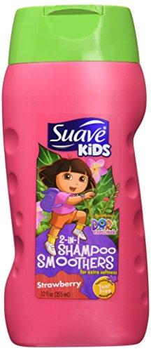 Suave Kids 2N1 Sha Con Strwbry 12 Oz
