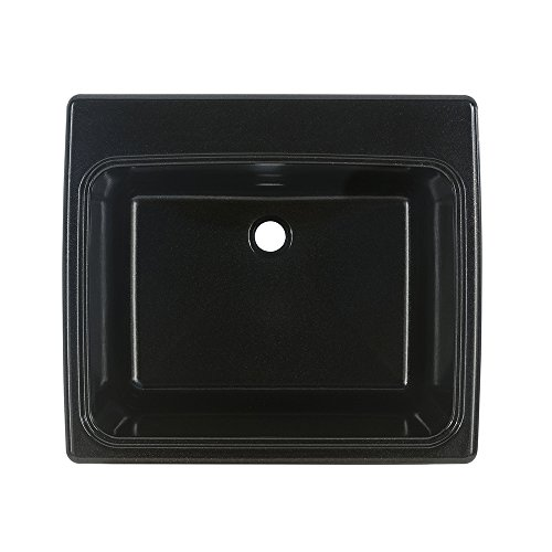 Swan SSUS1000.101 Midnight Sparkle Solid Surface Utility Sink by Swan