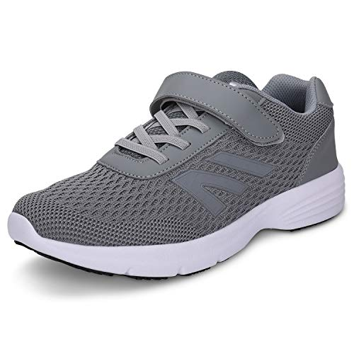 labato Strap Sneaker Breathable Sports Shoes for Men and Women Grey