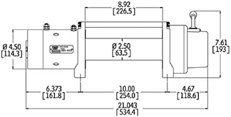 warn power plant wiring diagram amazon com warn 26502 m8000 series electric 12v winch with steel  amazon com warn 26502 m8000 series