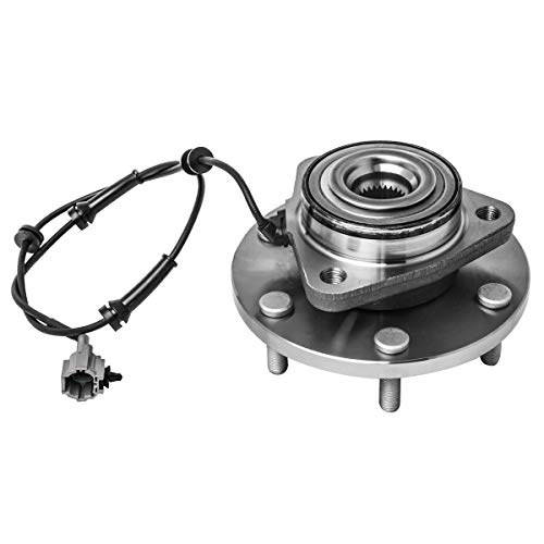 5 Lug W//ABS Front Wheel Hub and Bearing Assembly Left or Right Compatible Chrysler Town and Country Dodge Grand Caravan Volkswagen Routan AUQDD 513273 x2 Pair
