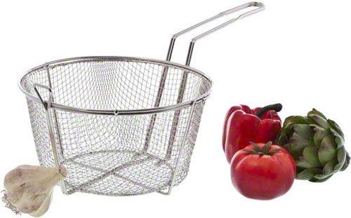 Update International (FB-9) 9 1/2'' Round Wire Fry Basket by Update International (Image #3)