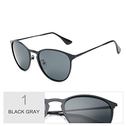 Plata En Aleación De Gafas De Azul Gafas Sol De De Polarizadas Sol Black Gafas Bastante Hombres Guay Guía Vestidos Gray Coloridos TIANLIANG04 Moda yYxq8wf0Ry