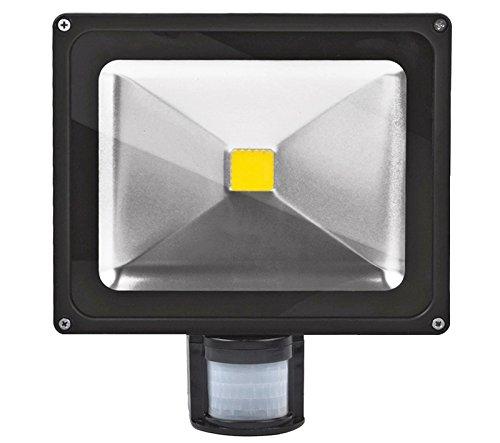 30W Foco LED con Sensor Movimiento,ALPHA Foco Proyector con ...