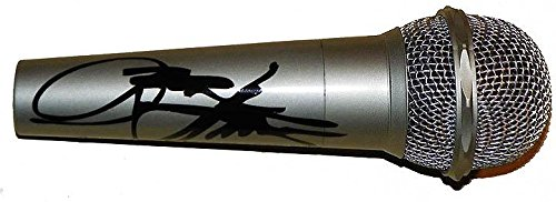 Autographed Signed Microphone (Kiss Gene Simmons Autographed Facsimile Signed Microphone)