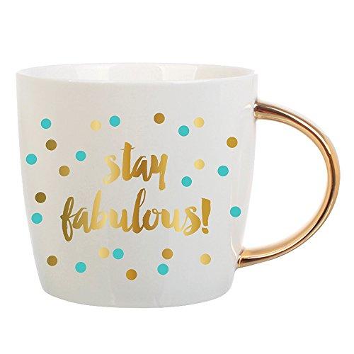 Slant Stay Fabulous ceramic Mug product image