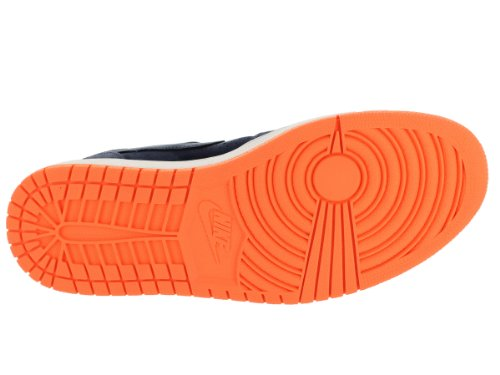 quality design 17153 9ec7b Nike Jordan Men s Air Jordan 1 Mid Nouveau Obsdn Obsdn Atmc Orng Cl ...