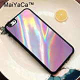 Best PASONOMI Iphone 6 Case Rubbers - 1 Piece MaiYaCa Luxury Holographic Style Phone Bag Review