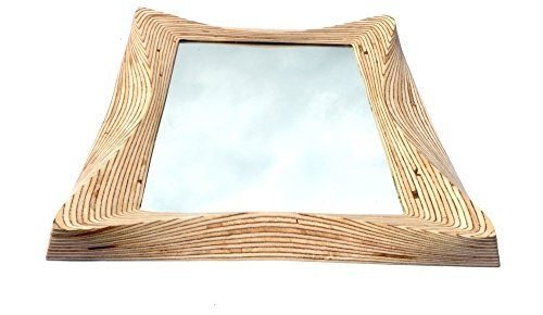 Wooden wall hanging mirror frame for bedroom, bathroom, living room, study or any living space - The INCA - by SurreyWoodsmiths