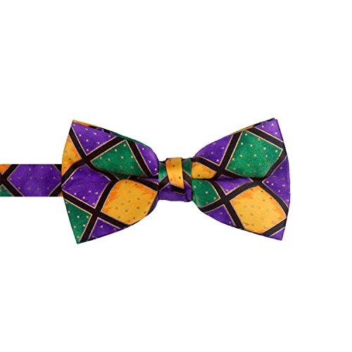 Mardi Gras Bow Tie ()