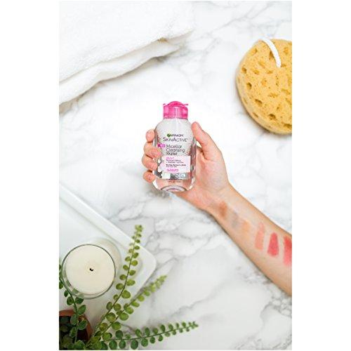 Garnier SkinActive Micellar Cleansing Water, For All Skin Types,  3.4 fl. oz.