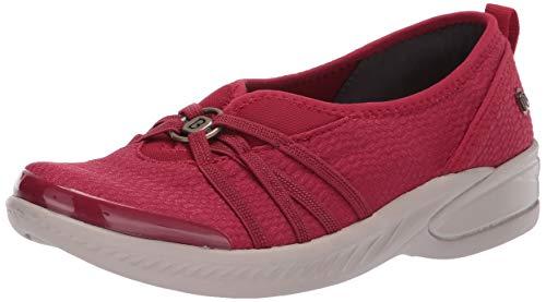 BZees Women's Niche Sneaker Scarlet mesh Fabric 10 W US