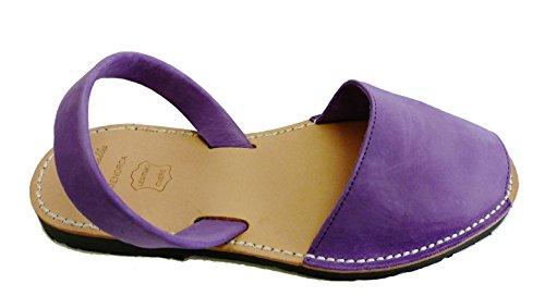 Autentici Vari Purple Sandali Sandali Minorca Di Albarcas Colori Menorquin Nobuck ZSZ8xrwq