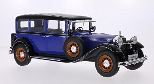 Mercedes Typ Nürburg 460/460 K (W08), blau/schwarz von MCG in 1:18