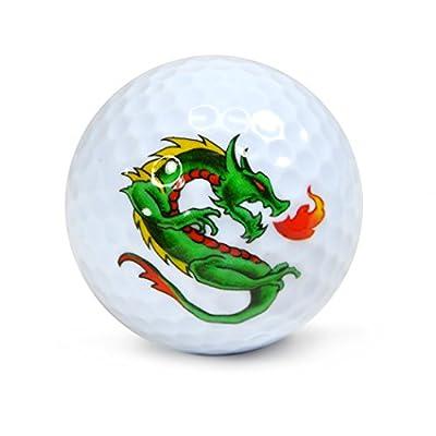 Nicks Underground Novelty Golf Balls - Strength 3 Pack Display Tube #NUG6
