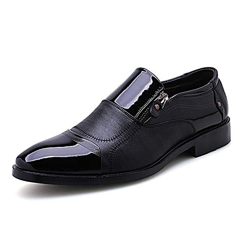 Noir Ville Cérémonie Chaussure De Mocassin Habillée Homme Rosegal Officiele Commerciale Maraige Décontractées PTRAwqT