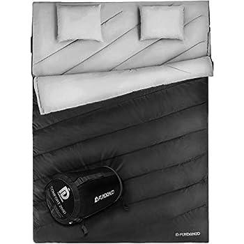 FUNDANGO Queen Size Double Sleeping Bag
