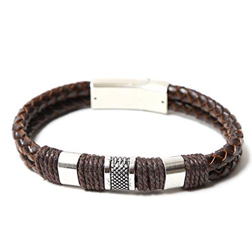 Cherry Bracelets for Women, Unisex Bracelets, Fashionable Bracelets, Magnetic Bracelet Clasps, Fancy Bracelets, Bonus Organza Bag (Snake Charmer) ()