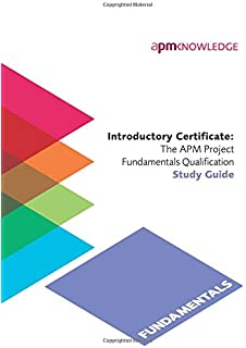 Apm project management qualification study guide amazon introductory certificatethe apm project fundamentals qualification study guide yelopaper Gallery