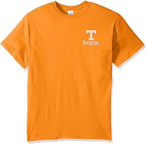 New World Graphics NCAA Tennessee Volunteers State of Mind Short Sleeve Tee, Large, Tennessee Orange