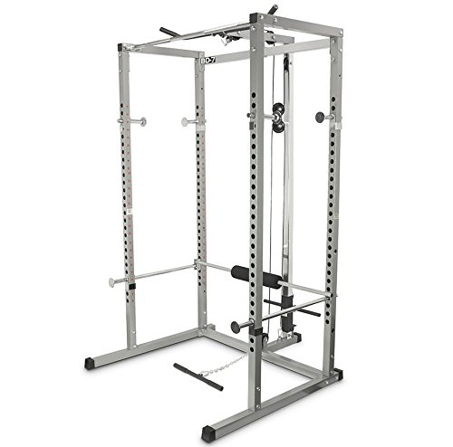 Valor Athletics Power Rack with Lat Pull by Ironcompany.com