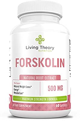 Forskolin Nourishing Diet Pills - Pure Natural Forskolin for Weight Loss & Appetite Suppressant - 500mg 60 ct