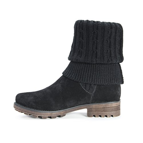 Pictures of MUK LUKS Women's Kelby Boots Fashion Black 6 M US 4