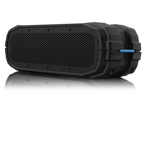 (BRAVEN BRV-X Portable Wireless Bluetooth Speaker [12 Hour Playtime][Waterproof] Built-in 5200 mAh Power Bank Charger - Black)