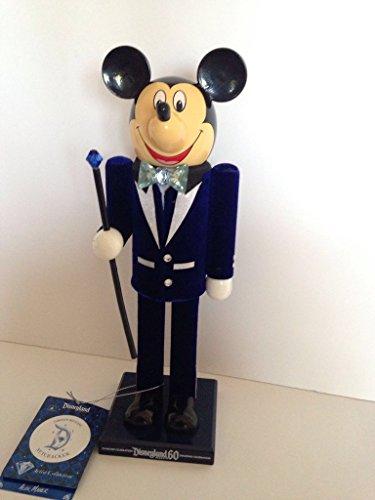 Disney Disneyland 60th Diamond Celebration Mickey Nutcracker New With Box