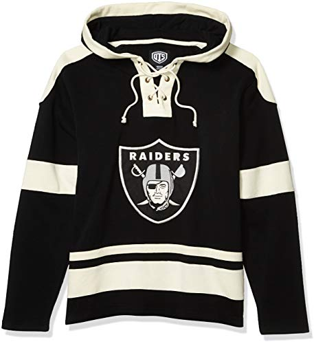 NFL Men's OTS Grant Lace Up Pullover Hood