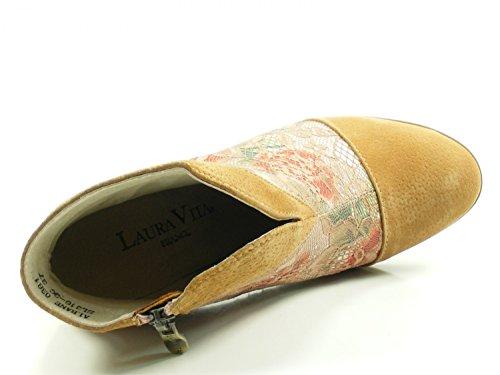 Laura Vita Sl316-3c 0381 Albane Chaussures Bottines Femmes Bottines Marron
