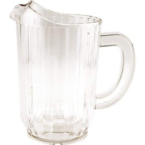 Plastic Beer Pitcher - 32 oz, Set of 12 by Winco (Image #1)